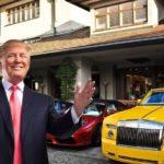 Дональд Трамп и его автомобильная коллекция