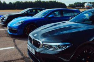 Для  BMW, Mercedes и Porsche устроили гонки