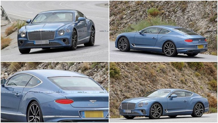 Bentley Continental GT с гибридом