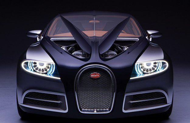 В планах внедорожник Bugatti