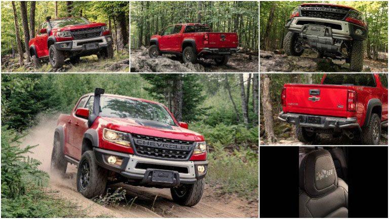 Особая модификация Chevrolet Colorado на видео