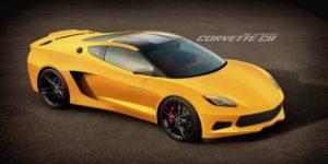Chevrolet Corvette C8 тестируют