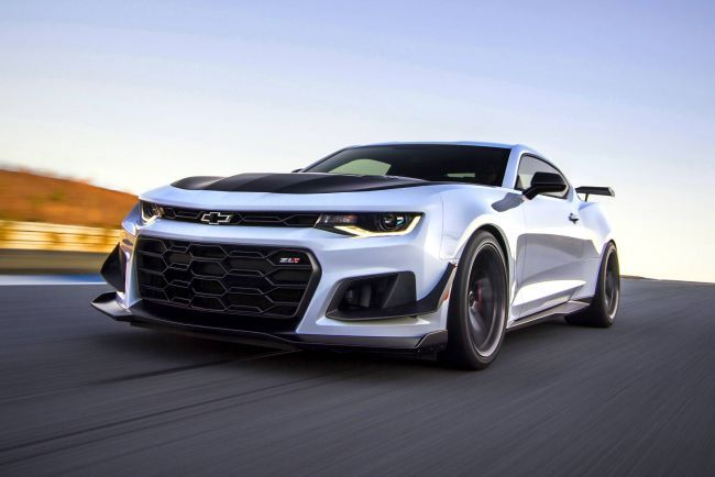 Новый Chevrolet Camaro Turbo 1LE