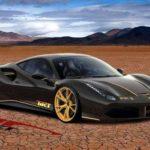 Ferrari  488 модели на  испытаниях