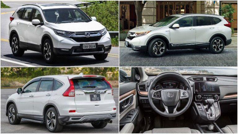 Обновлённая версия кроссовера Honda CR-V