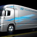 Водородный грузовик Hyundai