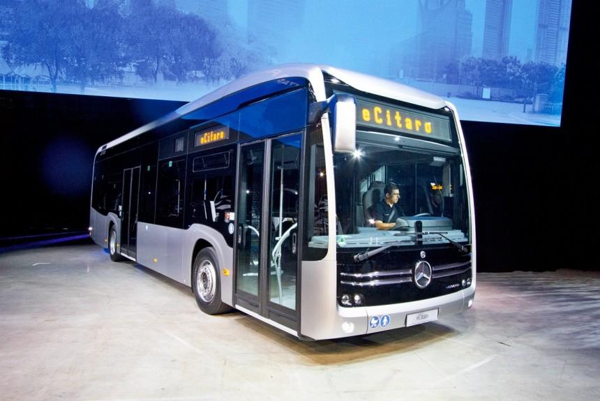 Электробус Mercedes