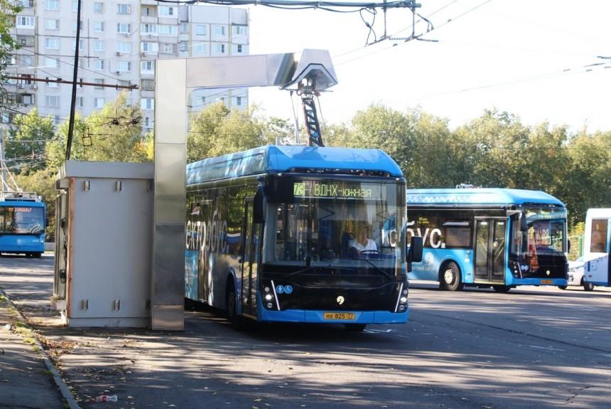 Электробусы в Москве