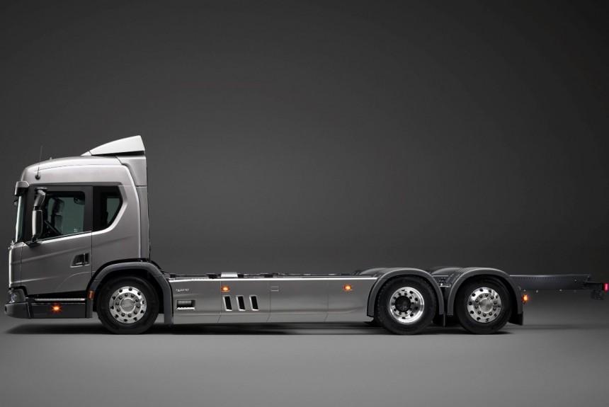 Scania  гибрид