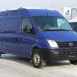 Электрический фургон Maxus