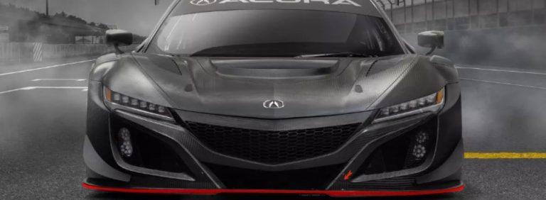 Гоночный Acura NSX