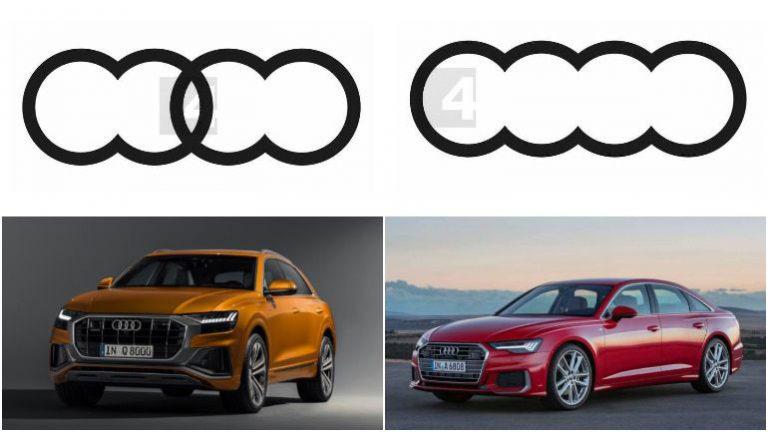 Новые логотипы Audi