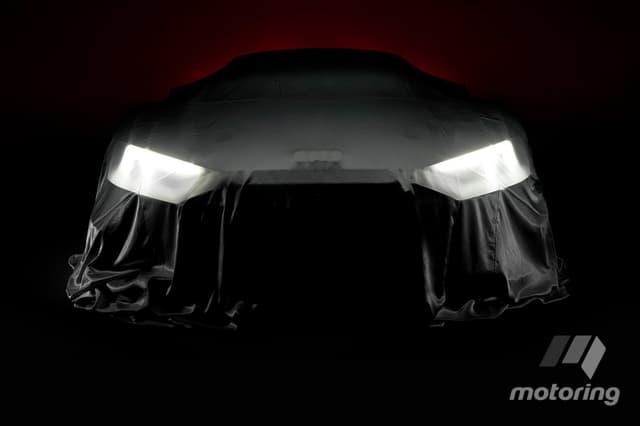 Новый гоночный Audi R8.