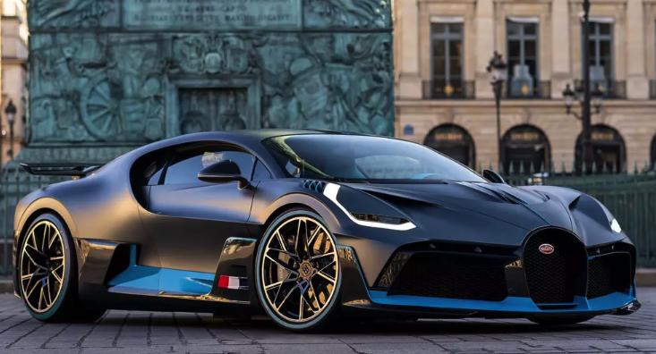 Экстремальный Bugatti Chiron