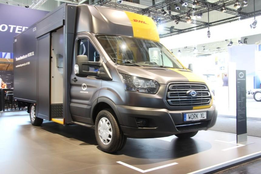 Электрический Ford Transit