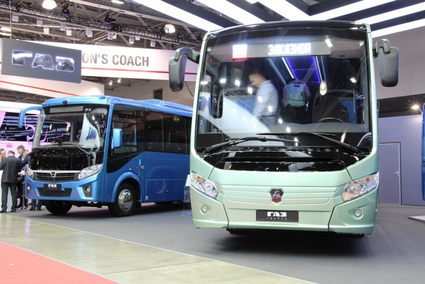 Выставка Busworld: ГАЗ