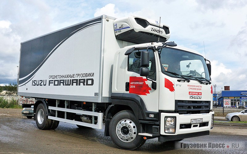 Isuzu Forward FVR34