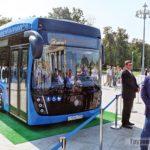 Электробусы КАМАЗ-6282 уже на линии