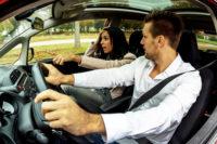 Манера вождения супругов