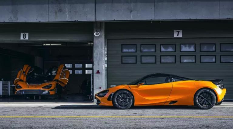 Трековый суперкар McLaren 720S  легче