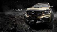 Шестиколесный  тюнинг Mercedes от поляков