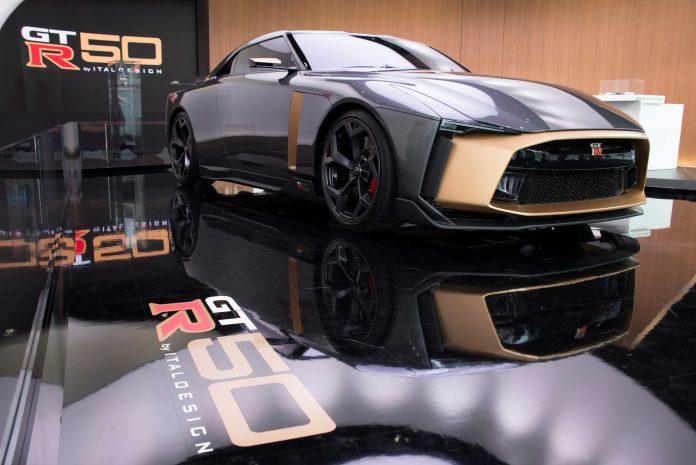 Произведение искусства  Nissan GT-R50