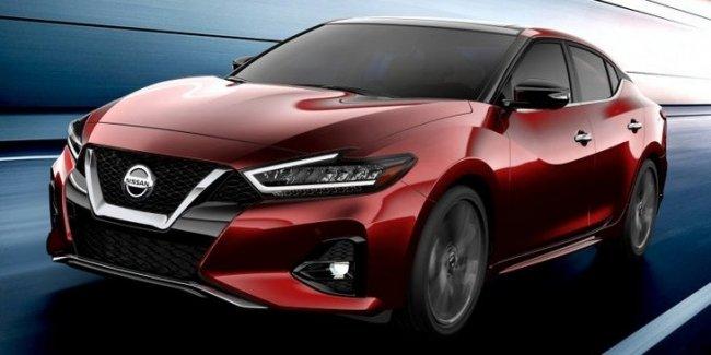 Новый Nissan Maxima