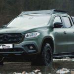 Пикап Mercedes-Benz   для охотников