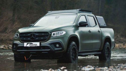 Пикап Mercedes-Benz