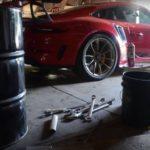 Porsche 911 GT3 RS  на грунте