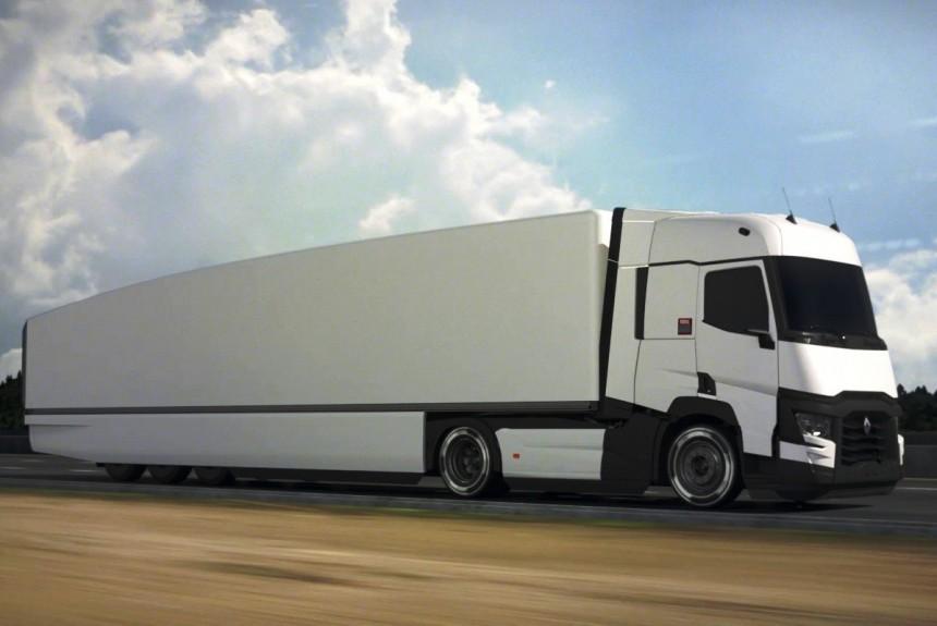 Экономичный автопоезд Renault Trucks