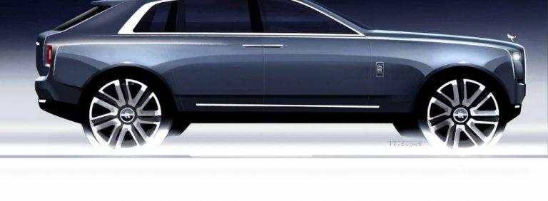 Самый мощный Rolls-Royce Cullinan  гибрид