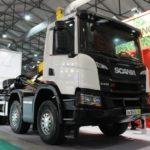 Scania  погрузчик-мусоровоз
