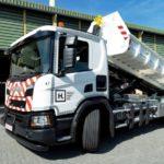 Газовый самосвал Scania