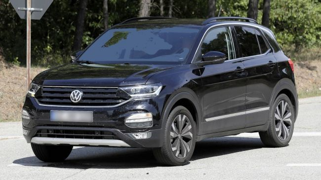 Volkswagen T-Cross на видео