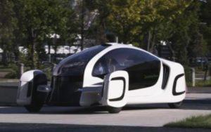 Наилегчайший автомобиль из пластмассы