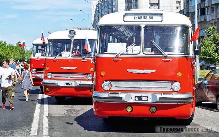 Парад ретротранспорта 2018 года