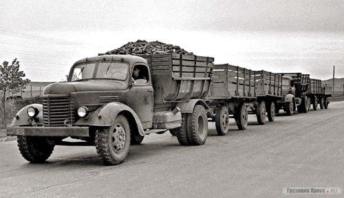 Автопоезда-рекордсмены из СССР