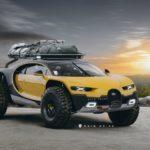 Внедорожник Bugatti глазами эстонского дизайнера