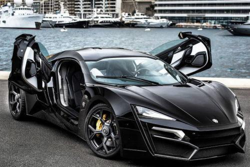 дорогие автомобили