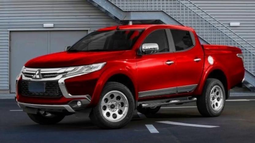 Новый пикап Mitsubishi L200 с сохранением рамы