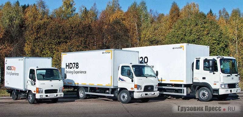 Обновленная линейка фургонов Hyundai