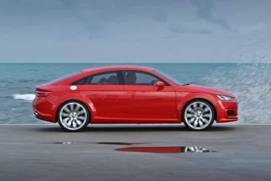 Audi TTпревратится изкупе классического вчетырехдверное