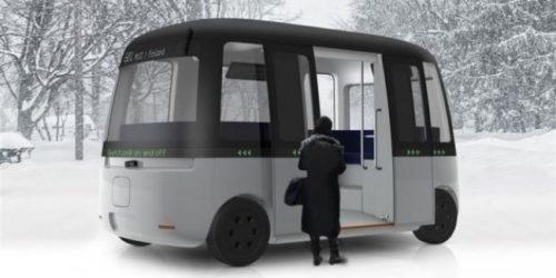 Беспилотный автобус Gacha