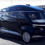 Беспилотный электробус КамАЗ ШАТЛ