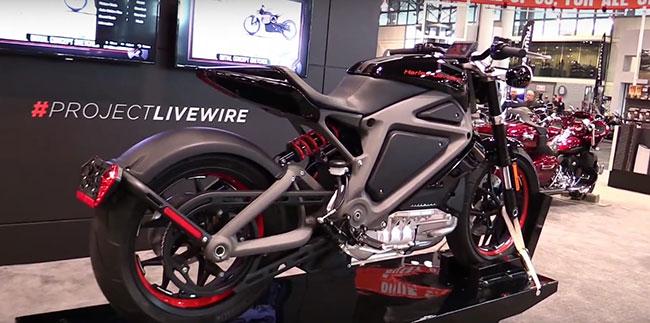 Первый в истории электробайк Harley-Davidson