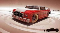 Самый большой седан в истории МАЗ-541
