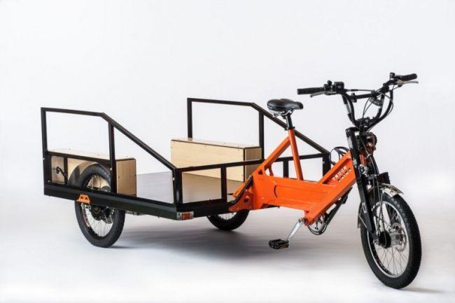 Модель грузового электробайка