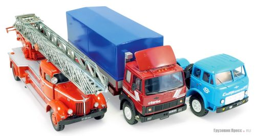 Моделизм грузовые автомобили