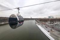 Московская канатная дорога сломалась через день после пуска